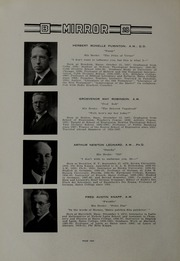 Page 14, 1928 Edition, Bates College - Mirror Yearbook (Lewiston, ME) online yearbook collection