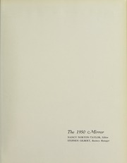 Page 5, 1950 Edition, Bates College - Mirror Yearbook (Lewiston, ME) online yearbook collection