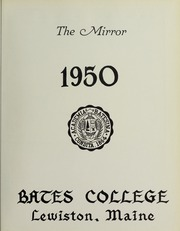 Page 7, 1950 Edition, Bates College - Mirror Yearbook (Lewiston, ME) online yearbook collection