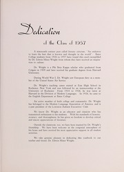 Page 7, 1957 Edition, Bates College - Mirror Yearbook (Lewiston, ME) online yearbook collection