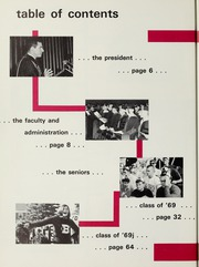 Page 8, 1969 Edition, Bates College - Mirror Yearbook (Lewiston, ME) online yearbook collection