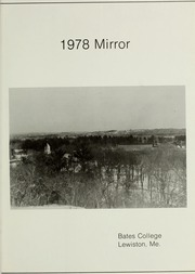 Page 3, 1978 Edition, Bates College - Mirror Yearbook (Lewiston, ME) online yearbook collection