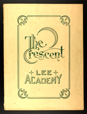 Page 1, 1919 Edition, Lee Academy - Crescent Yearbook (Lee, ME) online yearbook collection