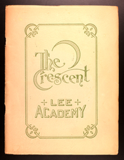 Page 1, 1923 Edition, Lee Academy - Crescent Yearbook (Lee, ME) online yearbook collection