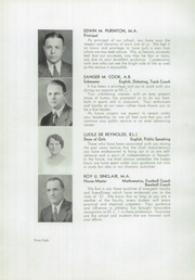 Page 12, 1937 Edition, Maine Central Institute - Trumpet Yearbook (Pittsfield, ME) online yearbook collection