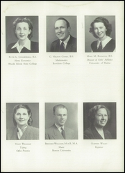 Page 15, 1948 Edition, Maine Central Institute - Trumpet Yearbook (Pittsfield, ME) online yearbook collection