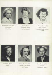 Page 15, 1949 Edition, Maine Central Institute - Trumpet Yearbook (Pittsfield, ME) online yearbook collection