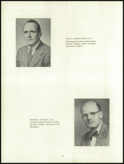 Page 12, 1954 Edition, Maine Central Institute - Trumpet Yearbook (Pittsfield, ME) online yearbook collection