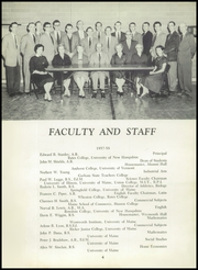 Page 8, 1958 Edition, Maine Central Institute - Trumpet Yearbook (Pittsfield, ME) online yearbook collection
