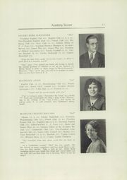 Page 13, 1930 Edition, Foxcroft Academy - Review Yearbook (Dover Foxcroft, ME) online yearbook collection