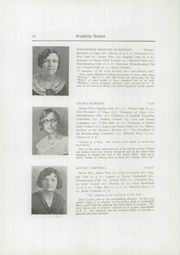 Page 14, 1930 Edition, Foxcroft Academy - Review Yearbook (Dover Foxcroft, ME) online yearbook collection