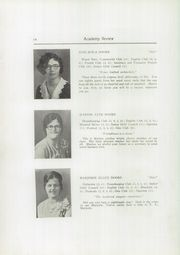 Page 16, 1930 Edition, Foxcroft Academy - Review Yearbook (Dover Foxcroft, ME) online yearbook collection