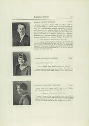 Page 17, 1930 Edition, Foxcroft Academy - Review Yearbook (Dover Foxcroft, ME) online yearbook collection
