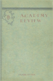1931 Edition, Foxcroft Academy - Review Yearbook (Dover Foxcroft, ME)