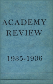 1936 Edition, Foxcroft Academy - Review Yearbook (Dover Foxcroft, ME)