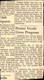 Page 4, 1963 Edition, Foxcroft Academy - Review Yearbook (Dover Foxcroft, ME) online yearbook collection