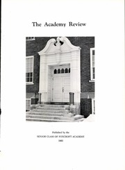 Page 7, 1963 Edition, Foxcroft Academy - Review Yearbook (Dover Foxcroft, ME) online yearbook collection