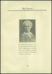 Page 8, 1930 Edition, Samuel D Hanson School - Crescent Yearbook (Buxton, ME) online yearbook collection