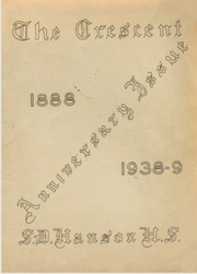 Page 1, 1939 Edition, Samuel D Hanson School - Crescent Yearbook (Buxton, ME) online yearbook collection