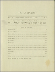 Page 3, 1939 Edition, Samuel D Hanson School - Crescent Yearbook (Buxton, ME) online yearbook collection