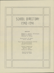Page 7, 1941 Edition, Samuel D Hanson School - Crescent Yearbook (Buxton, ME) online yearbook collection