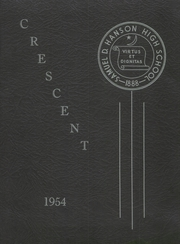 Page 1, 1954 Edition, Samuel D Hanson School - Crescent Yearbook (Buxton, ME) online yearbook collection