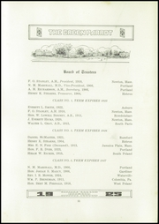 Page 15, 1925 Edition, Hebron Academy - Spectator Yearbook (Hebron, ME) online yearbook collection