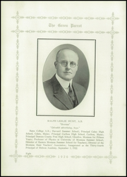 Page 12, 1926 Edition, Hebron Academy - Spectator Yearbook (Hebron, ME) online yearbook collection