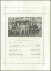 Page 13, 1926 Edition, Hebron Academy - Spectator Yearbook (Hebron, ME) online yearbook collection