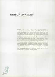 Page 10, 1940 Edition, Hebron Academy - Spectator Yearbook (Hebron, ME) online yearbook collection
