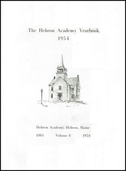 Page 5, 1954 Edition, Hebron Academy - Spectator Yearbook (Hebron, ME) online yearbook collection