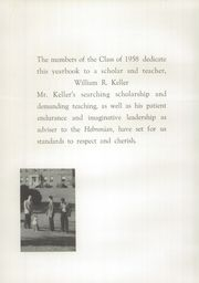 Page 6, 1958 Edition, Hebron Academy - Spectator Yearbook (Hebron, ME) online yearbook collection