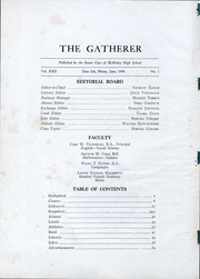 Page 3, 1940 Edition, McKinley High School - Gatherer Yearbook (Deer Isle, ME) online yearbook collection
