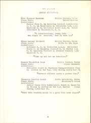 Page 11, 1947 Edition, Hollis High School - Sunbeam Yearbook (Hollis, ME) online yearbook collection
