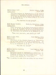 Page 12, 1947 Edition, Hollis High School - Sunbeam Yearbook (Hollis, ME) online yearbook collection