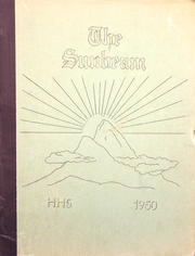 1950 Edition, Hollis High School - Sunbeam Yearbook (Hollis, ME)