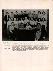 Page 9, 1950 Edition, Hollis High School - Sunbeam Yearbook (Hollis, ME) online yearbook collection