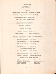 Page 7, 1952 Edition, Hollis High School - Sunbeam Yearbook (Hollis, ME) online yearbook collection