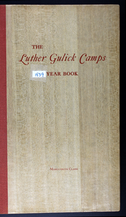 Page 1, 1939 Edition, Luther Gulick Camps - Yearbook (South Casco, ME) online yearbook collection