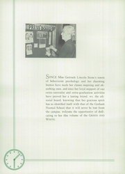Page 10, 1939 Edition, Gorham High School - Schola Yearbook (Gorham, ME) online yearbook collection