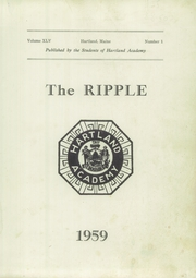 Page 3, 1959 Edition, Hartland Academy - Ripple Yearbook (Hartland, ME) online yearbook collection