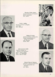 University of Maine at Portland - Umpire Yearbook (Portland, ME) online yearbook collection, 1966 Edition, Page 23