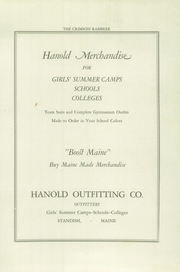 Page 5, 1926 Edition, Standish High School - Crimson Rambler Yearbook (Standish, ME) online yearbook collection