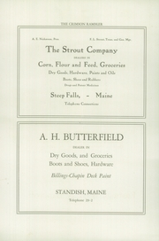 Page 8, 1926 Edition, Standish High School - Crimson Rambler Yearbook (Standish, ME) online yearbook collection