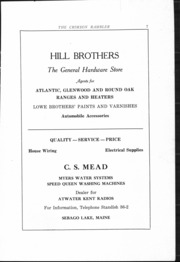 Page 8, 1930 Edition, Standish High School - Crimson Rambler Yearbook (Standish, ME) online yearbook collection