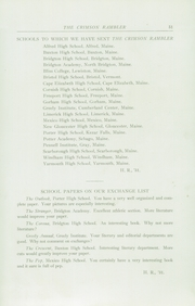 Page 55, 1931 Edition, Standish High School - Crimson Rambler Yearbook (Standish, ME) online yearbook collection