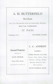 Page 60, 1931 Edition, Standish High School - Crimson Rambler Yearbook (Standish, ME) online yearbook collection