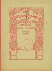 1940 Edition, Standish High School - Crimson Rambler Yearbook (Standish, ME)