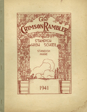 1941 Edition, Standish High School - Crimson Rambler Yearbook (Standish, ME)