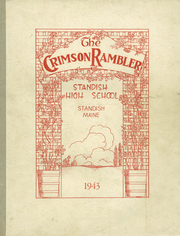 1943 Edition, Standish High School - Crimson Rambler Yearbook (Standish, ME)